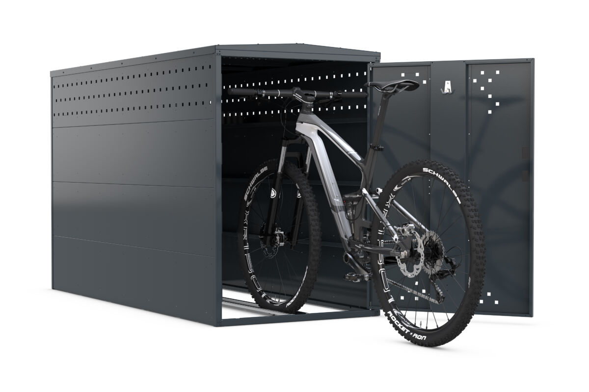 Bicycle locker BikeBox1