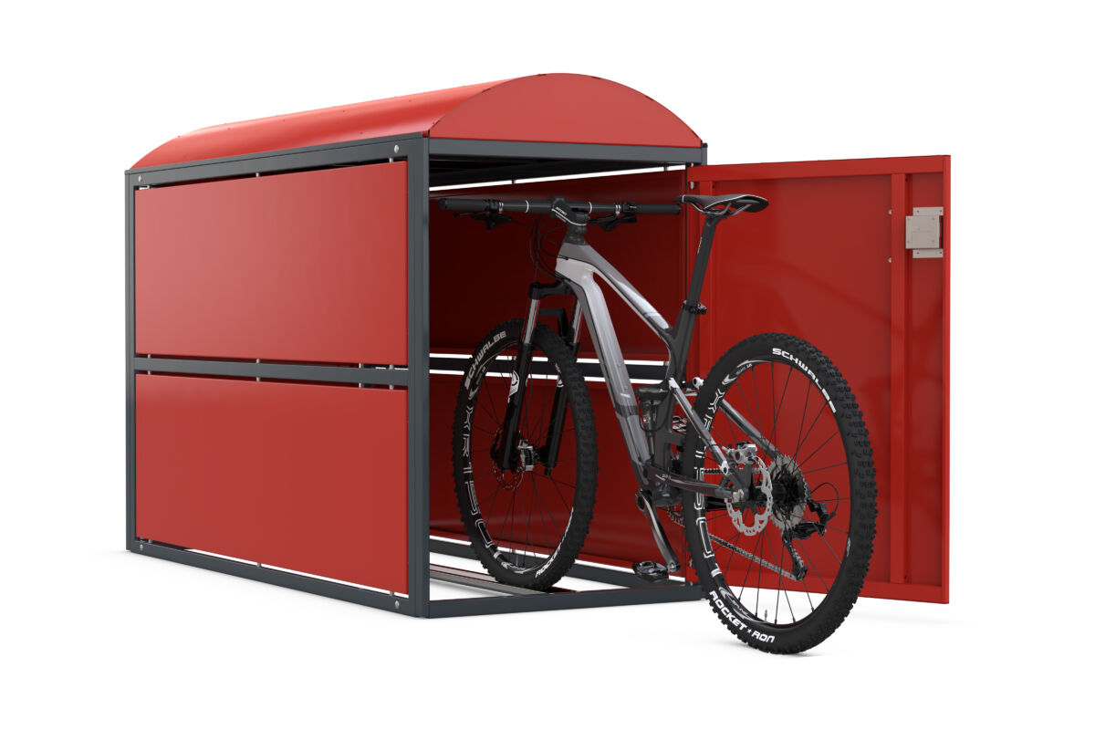 Bicycle locker BikeBox 2